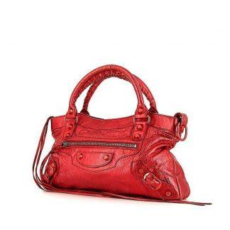 Best Balenciaga Replica First handbag in metallic red leather UK Bottega  Veneta ... 3203794f4b8d8