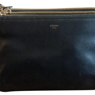 ... Top Designer Qualities Céline AAA Replica Trio Small Black Lambskin Leather  Cross Body Bag celine replica ... 2966a71304795